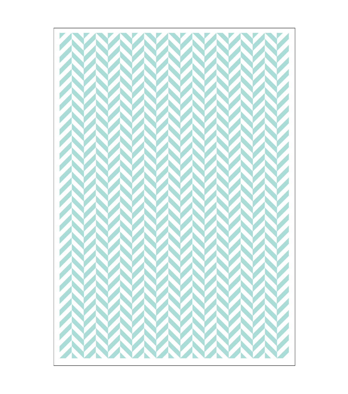 Park Lane 5\u0027\u0027x7\u0027\u0027 Embossing Folder-Herringbone