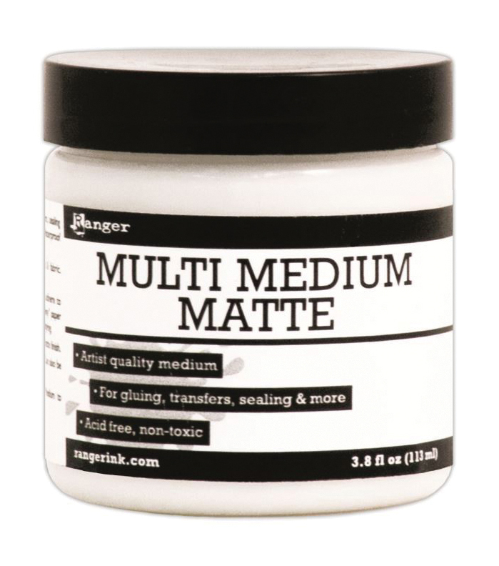 Ranger Multi Medium 3.8 oz. Jar-Matte