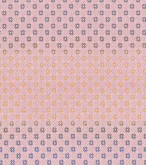 Asian Inspired Cotton Fabric 43\u0027\u0027-Metallic Diamond Dots on Pink
