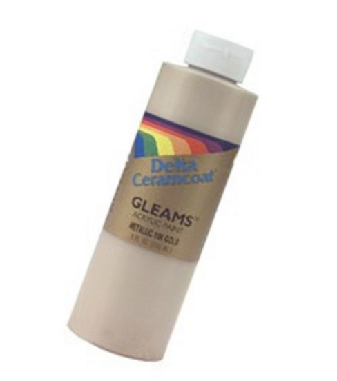 Ceramcoat Acrylic Paint 8oz, 14k Gold - Opaque