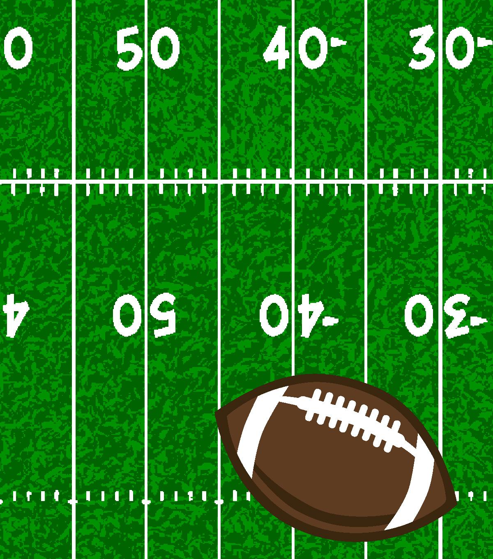 Fleece No Sew Throw-Football Field  c687b0420