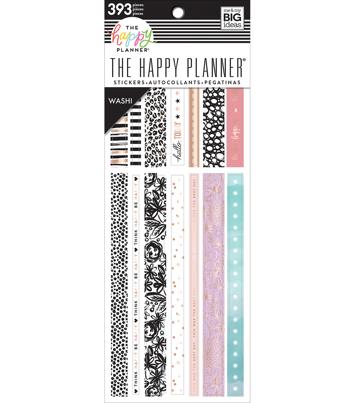 The Happy Planner Washi Sticker Book-Pastels