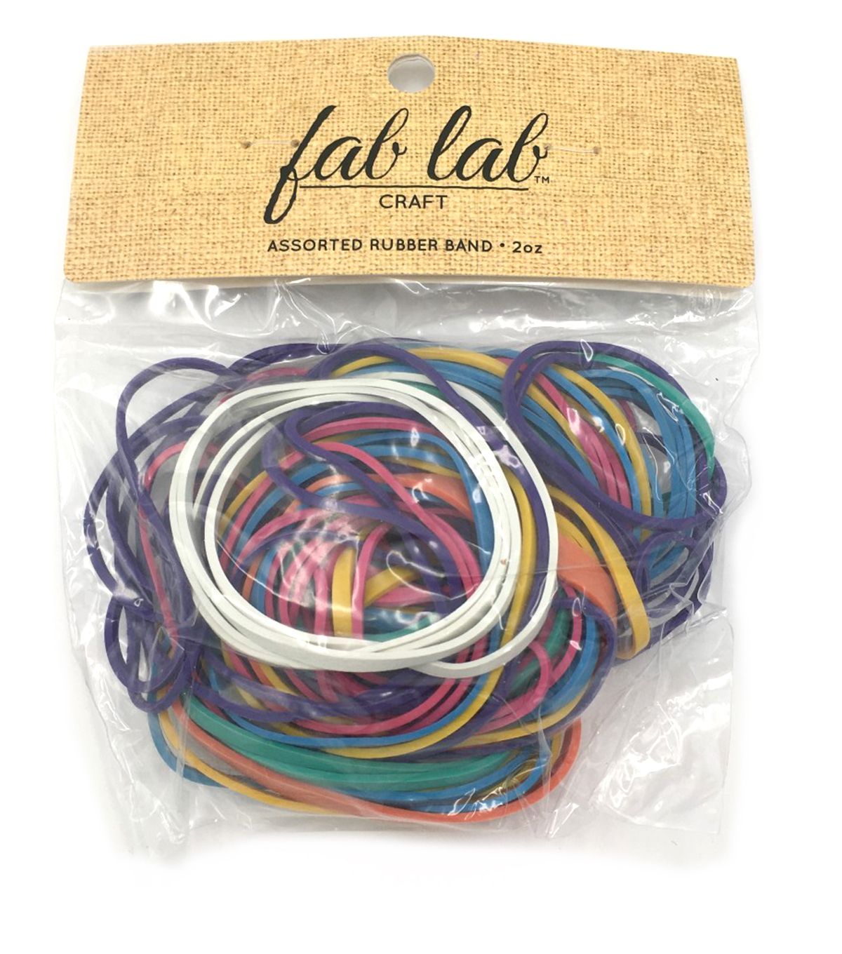 Rubber Bands 2 Ounces-Assorted Colors & Sizes