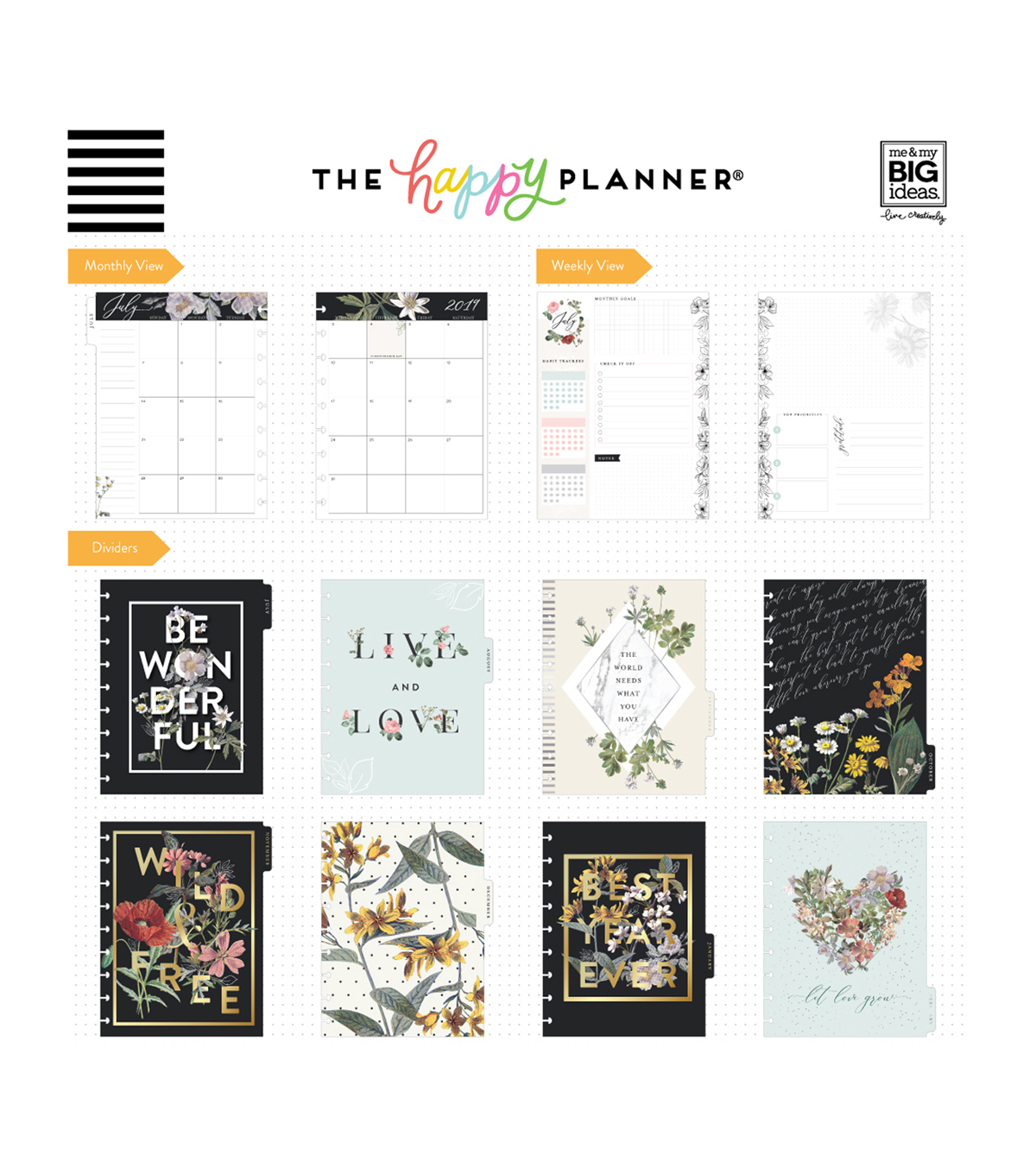The Happy Planner 18 Month Planner-Best Year Ever