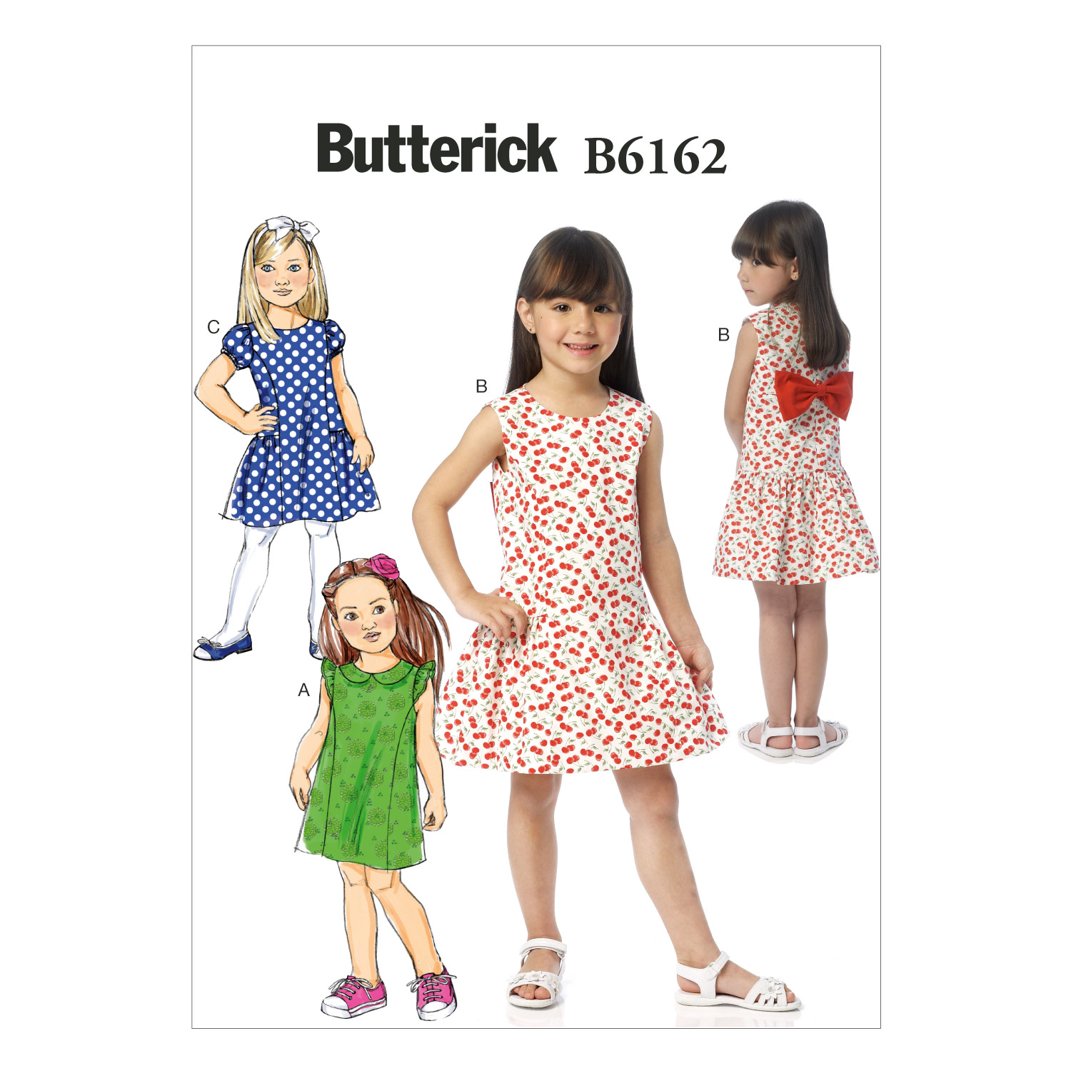 Butterick Child Dress-B6162