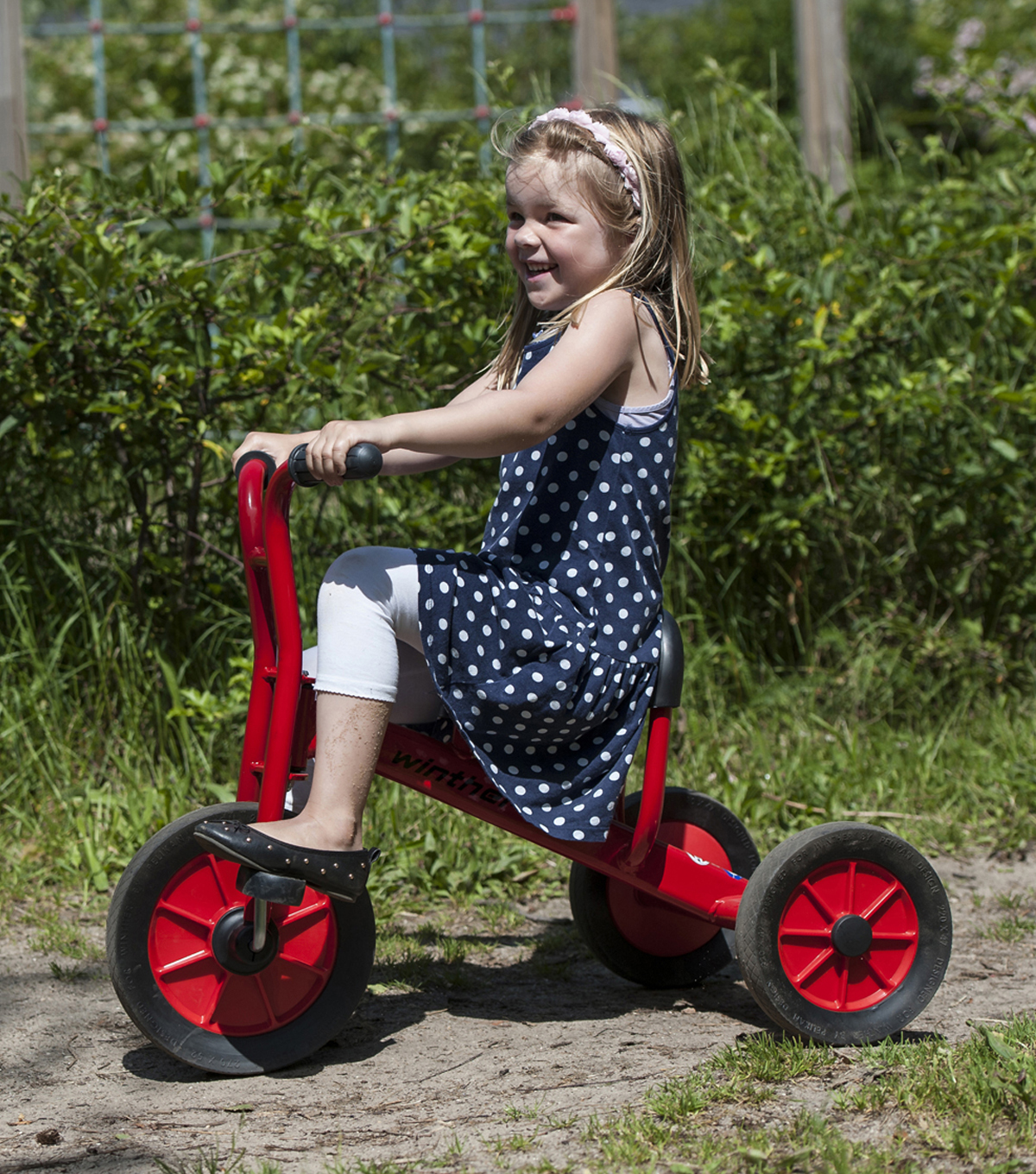 Winther Viking Large Tricycle-Red
