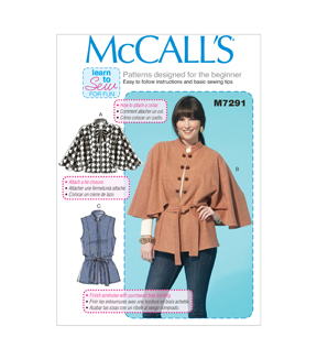 McCall\u0027s Misses Outerwear-M7291