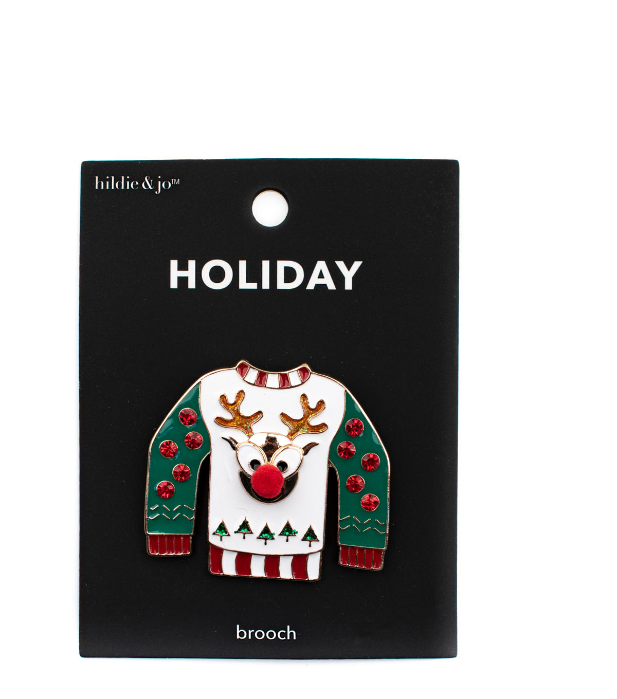 hildie & jo Holiday Pin-Ugly Sweater