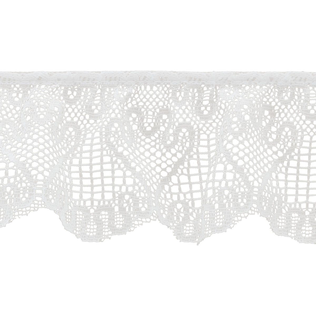 2.50 In Wht Lace Swirl