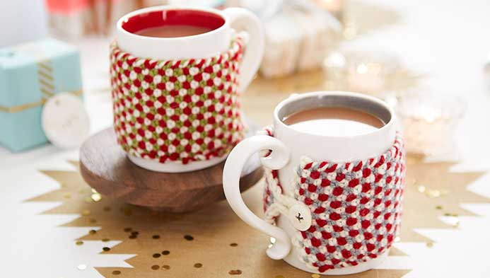 Knitted Mug Cozy