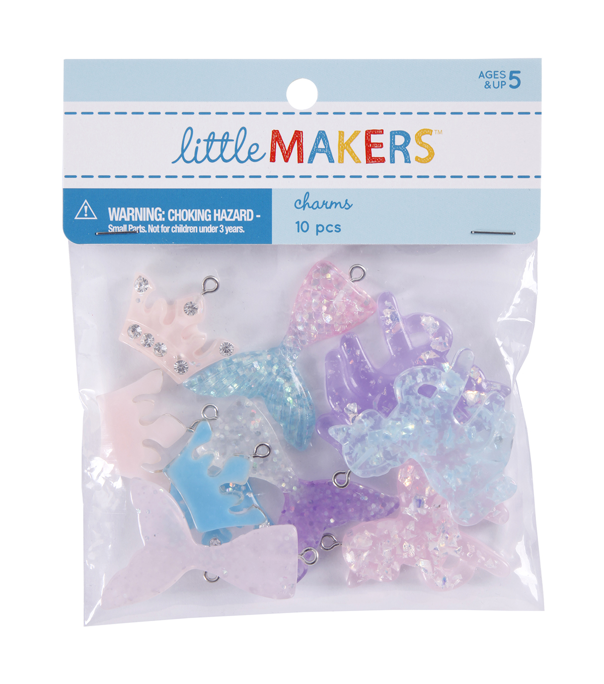 Little Makers 10pc Mixed Shape Charms