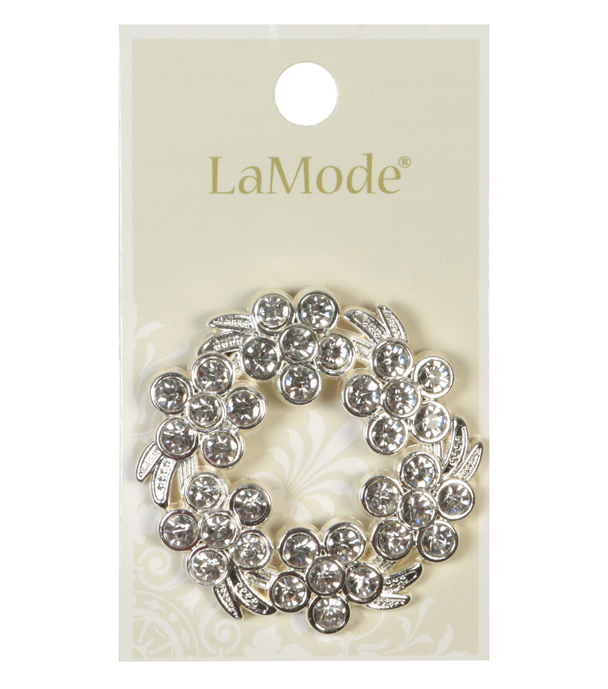 LaMode Large Wreath Pin