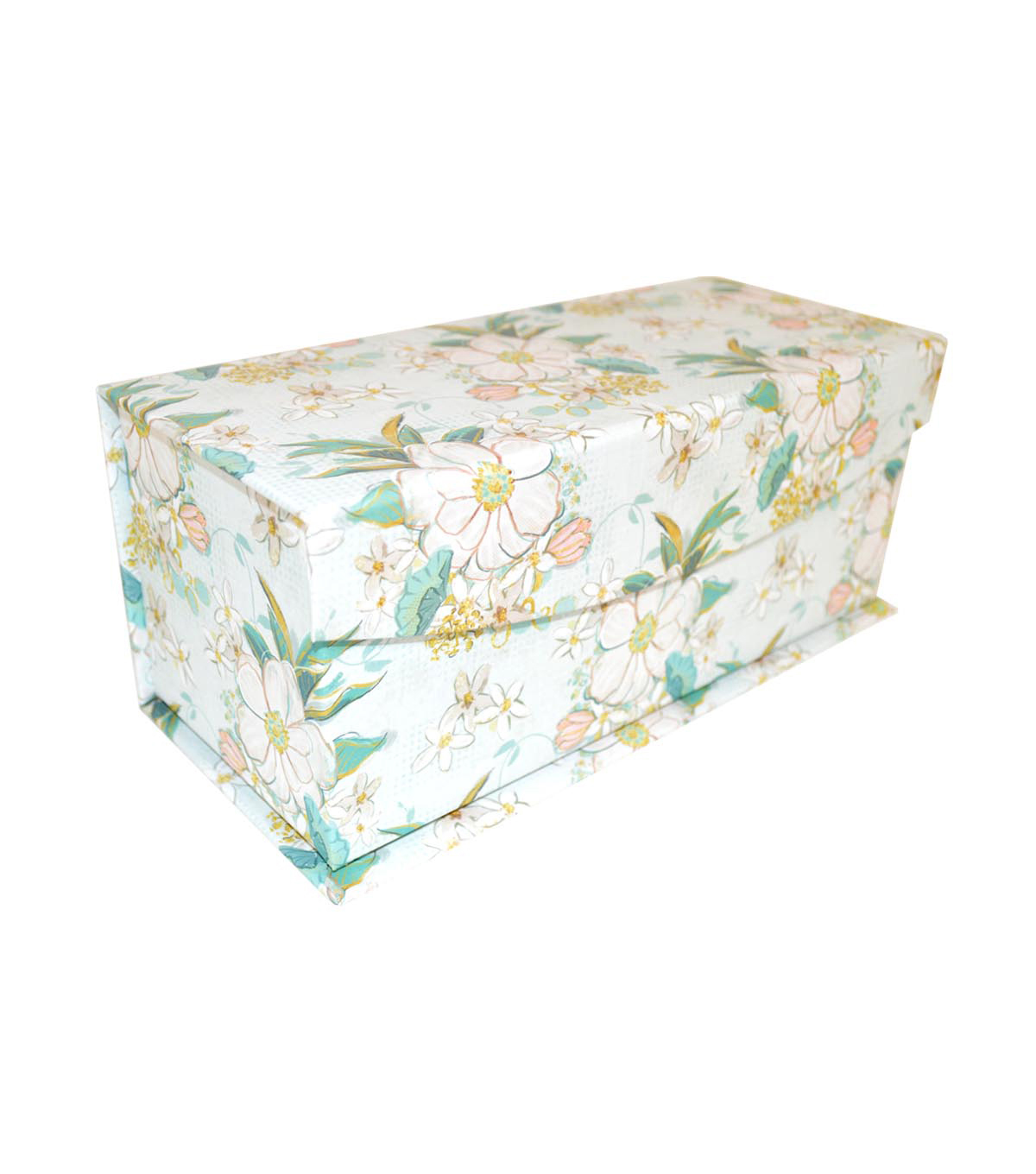 Extra Small Decorative Flip Top Storage Box-Blush Gold