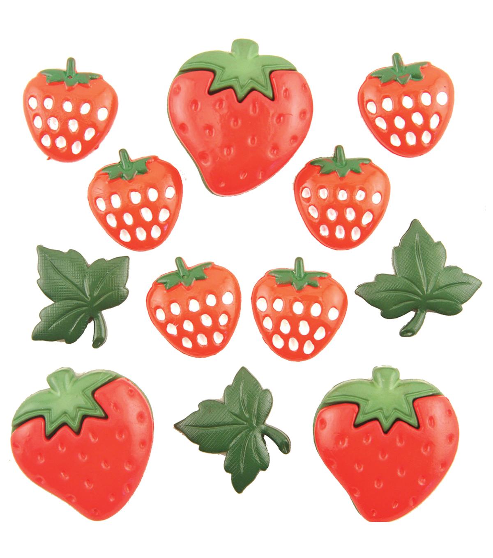 craft Strawberry Fields Scrapbooking Buttons Galore Summer