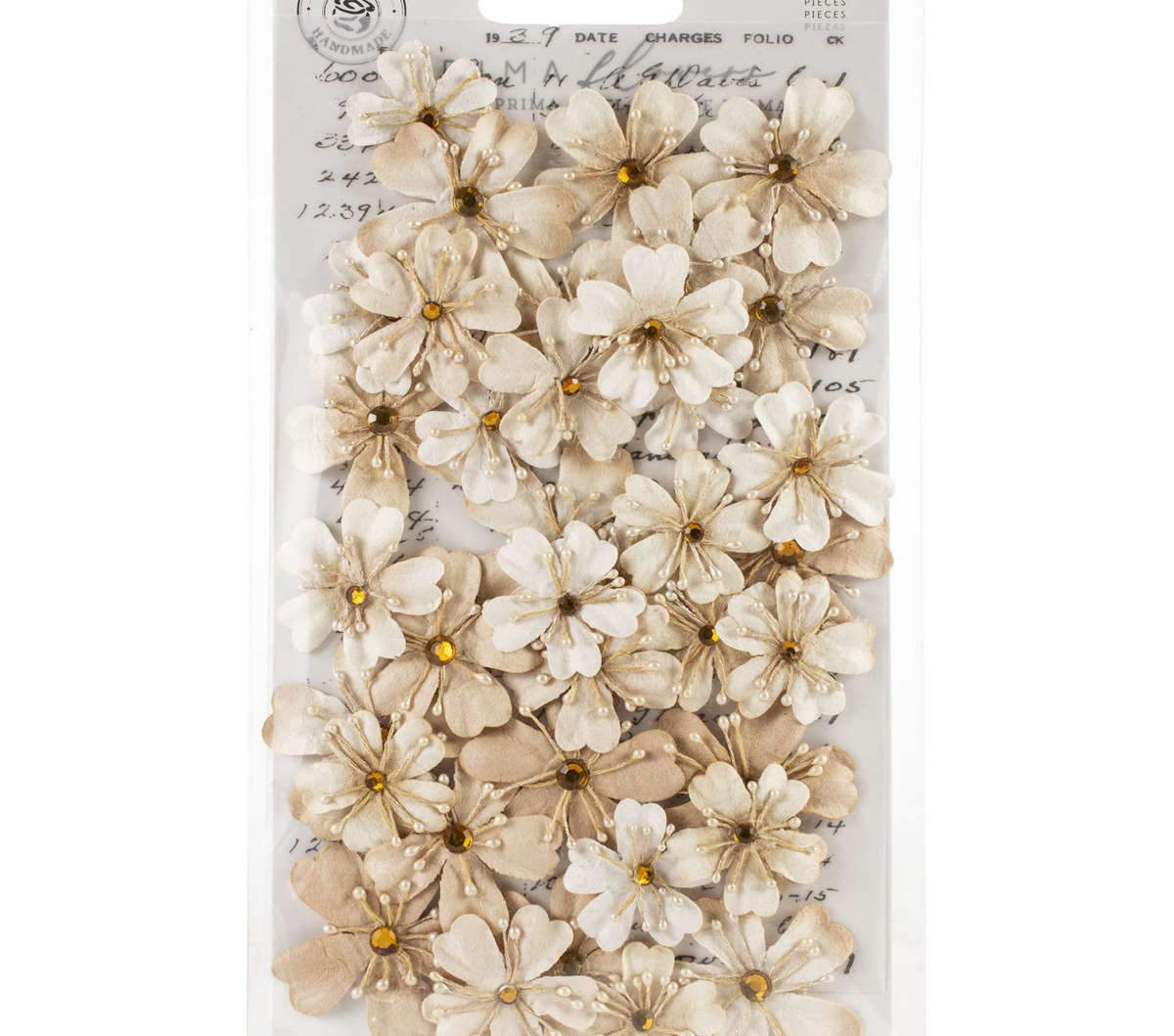 Prima Marketing Mulberry Paper Flowers -Meadows/Pretty Pale