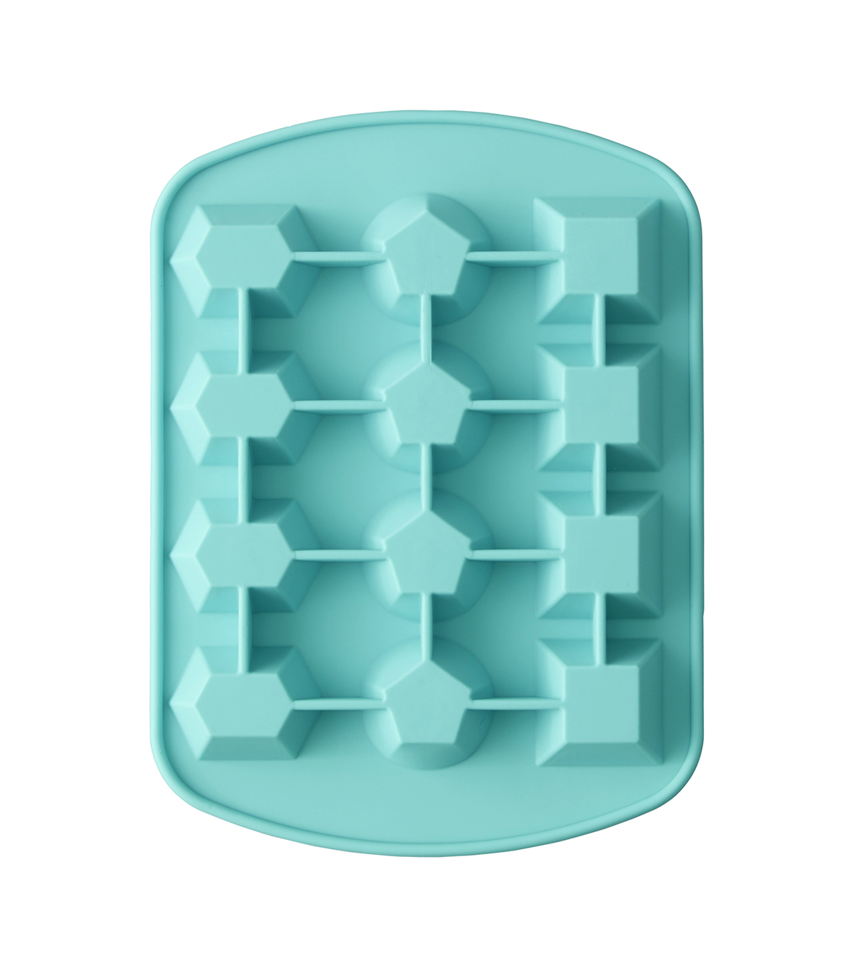 Rosanna Pansino By Wilton 12 Cavity Silicone Gem Candy Mold