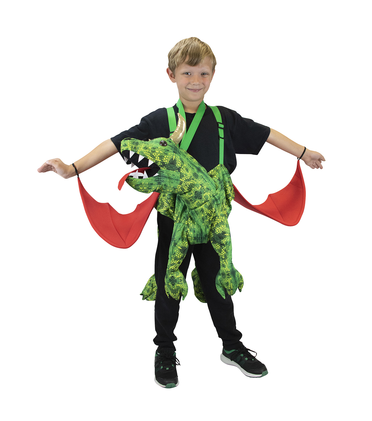 Maker\u0027s Halloween Child Costume-Riding Dragon