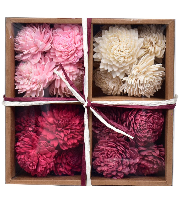 Blooming Autumn Dried Sola Flower Box | JOANN
