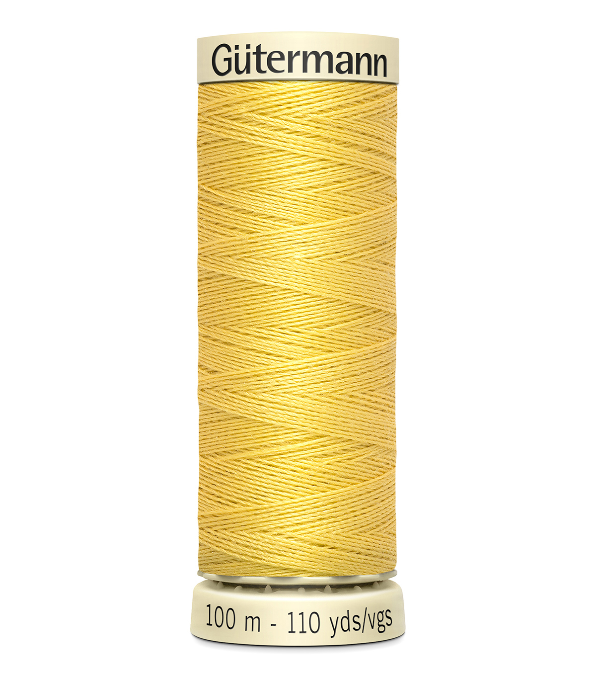 Gutermann Sew All Polyester Thread 110 Yards-Oranges & Yellows , Buttercup