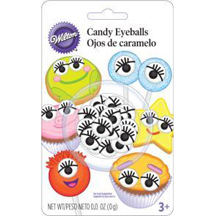 Wilton® Candy Eyeballs with Lashes