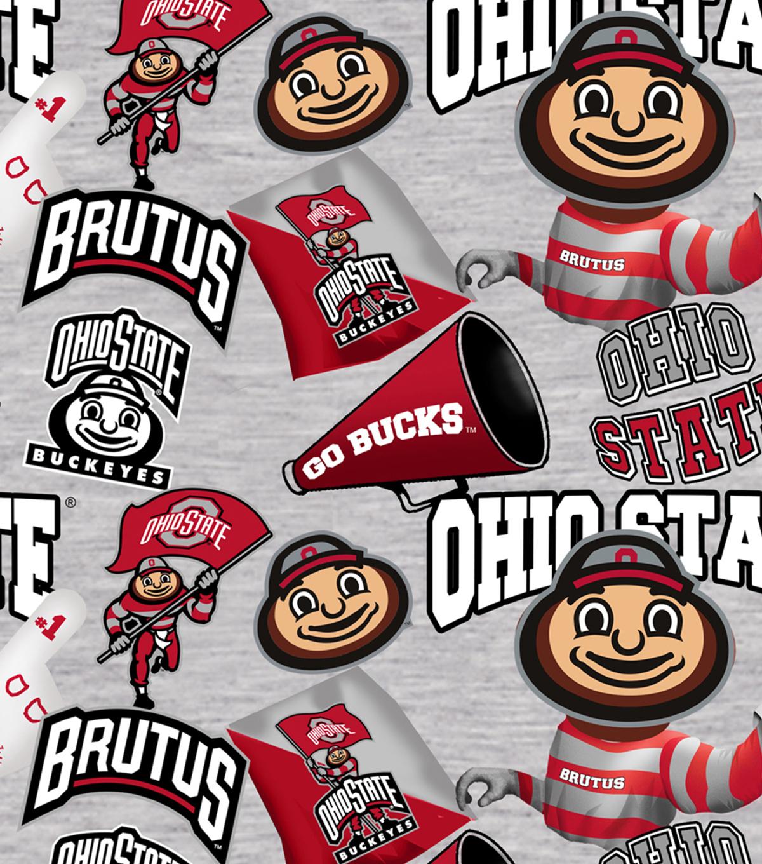 ohio state university buckeyes cotton fabric collegiate mascot joann