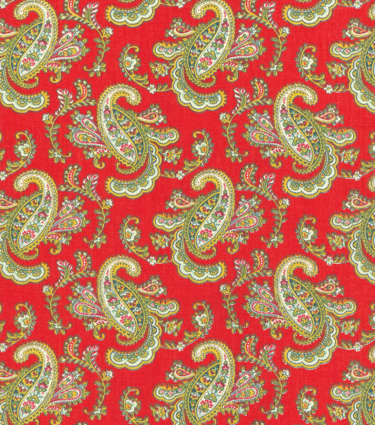 Waverly Multi-Purpose Decor Fabric-Pretty Paisley Jewel