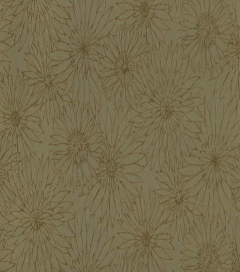 Home Decor 8\u0022x8\u0022 Fabric Swatch-Robert Allen Fleur Flocked Patina Fabric