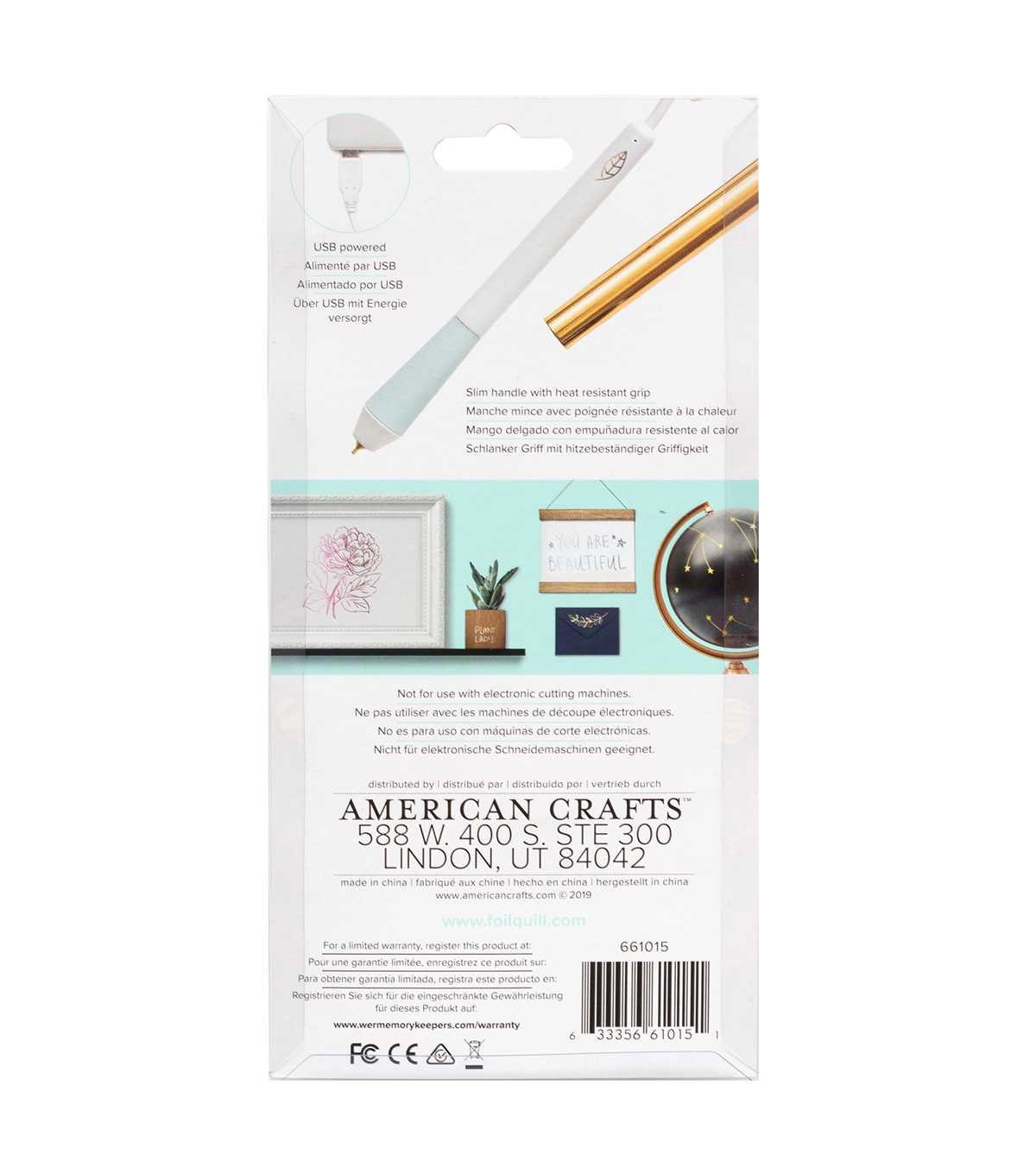 We R Memory Keepers Foil Quill Heat Pen Stylus