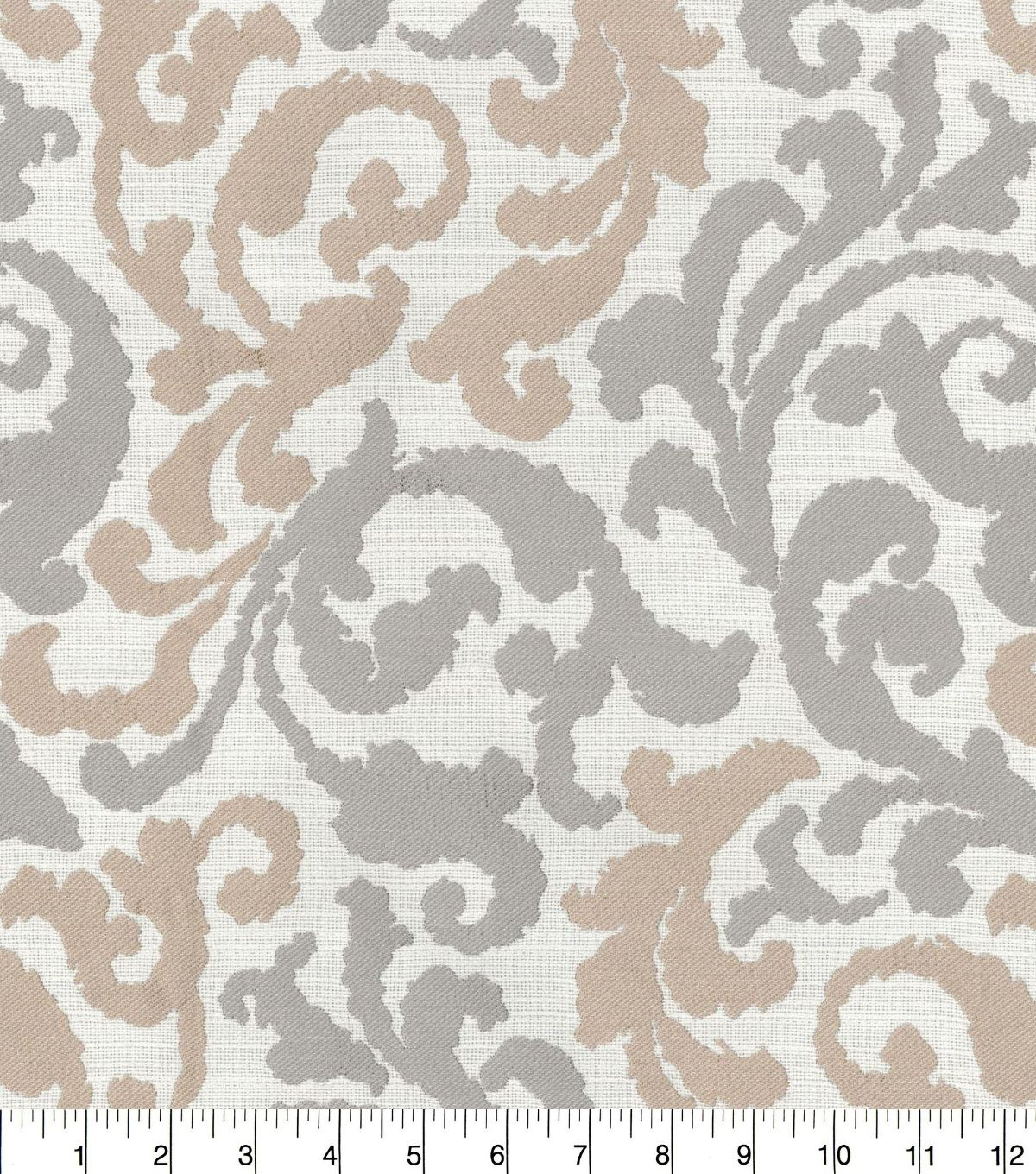 Kelly ripa multi purpose decor fabric 58u0022 graceful curves linen