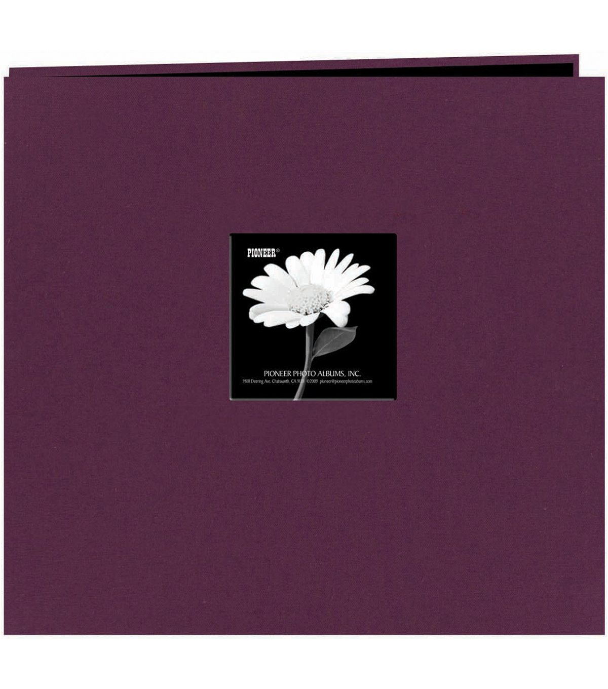Fabric Frame Scrapbook 12\u0022X12, Wildberry Purple