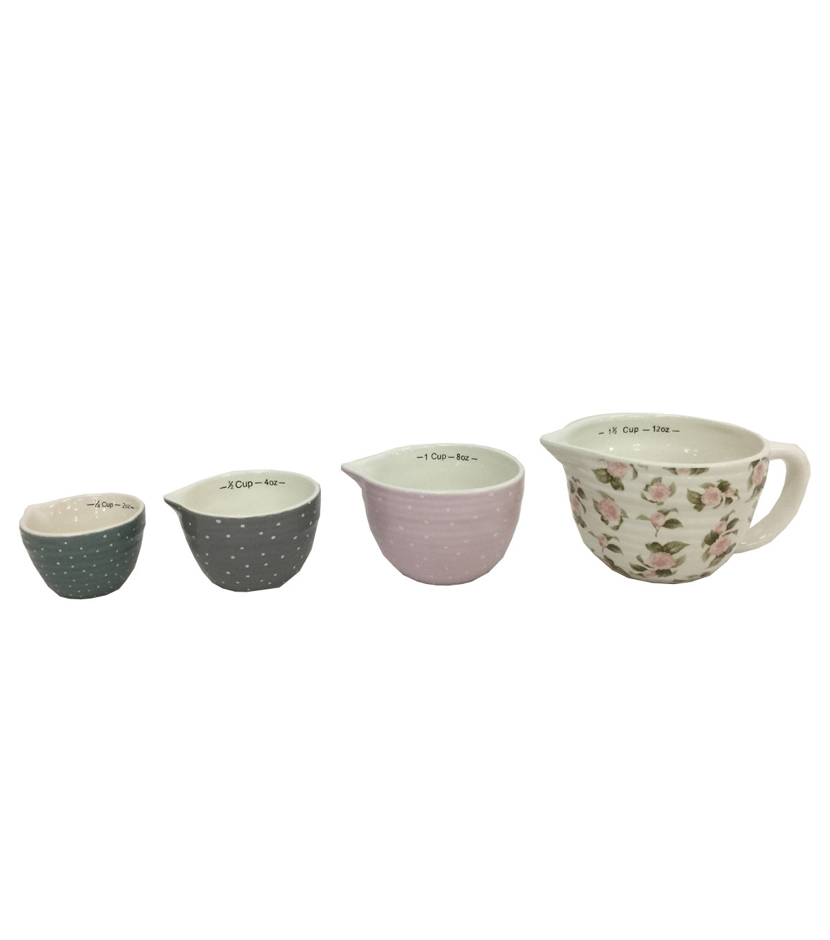 Simply Spring 4 pk Dolomite Measuring Cups