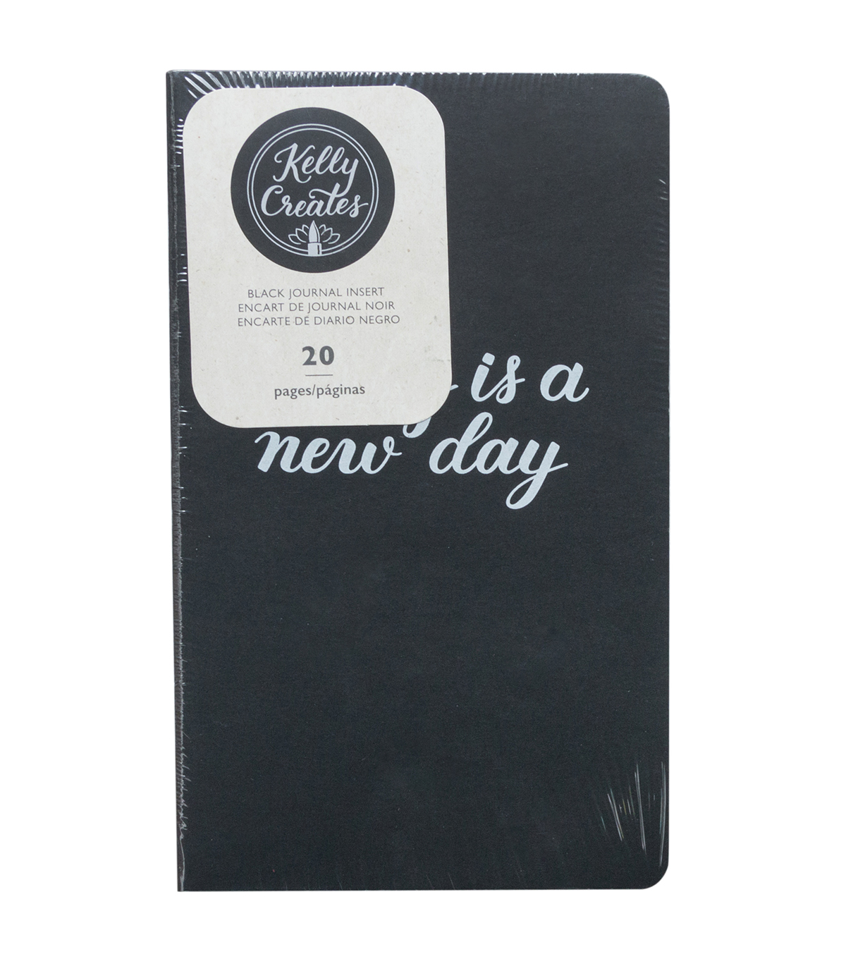 Kelly Creates 20 pk Journal Inserts-Black