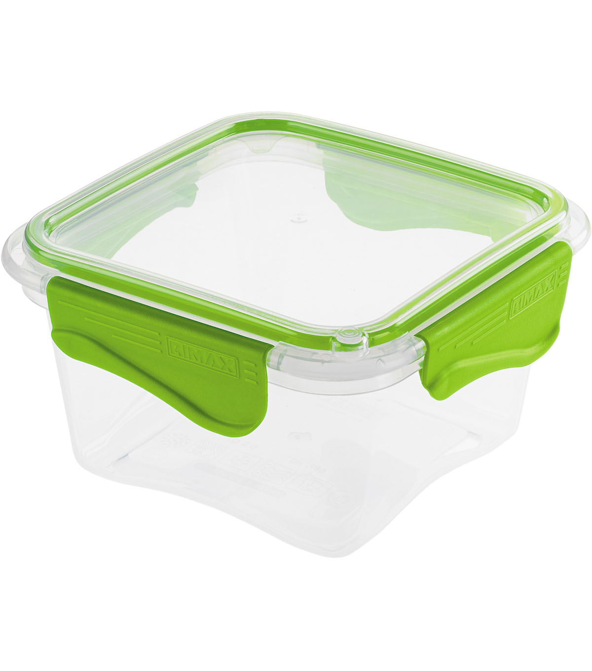 Rimax 29 oz. Food Storage Container -Clear & Lime