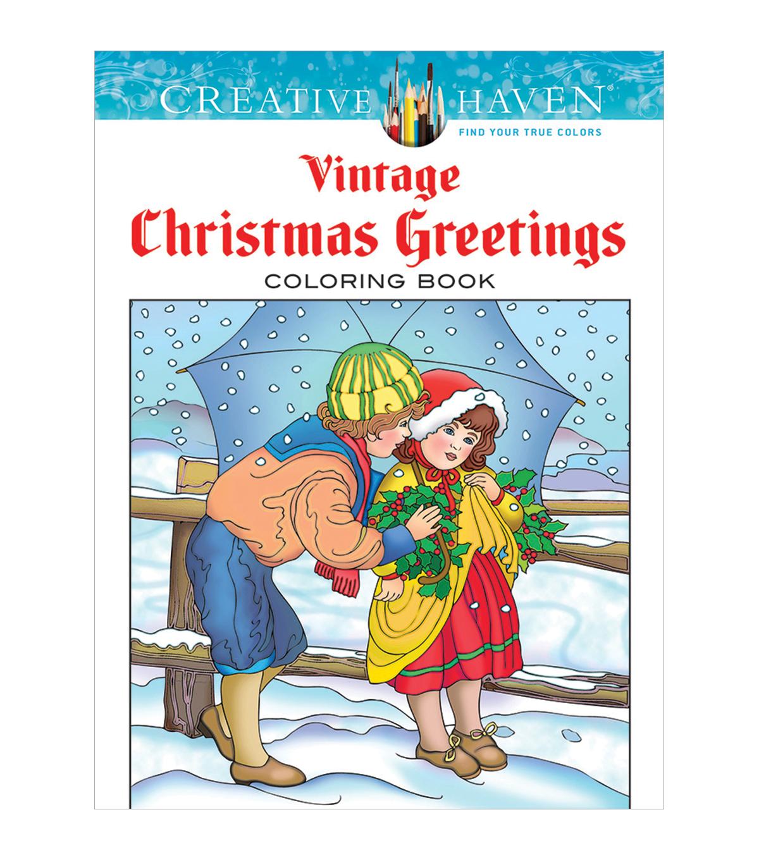 Dover Creative Haven Vintage Christmas Coloring Book | JOANN