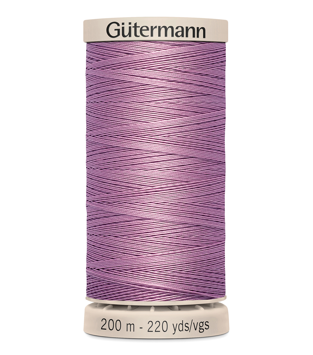 Gutermann Hand Quilting Thread 200 Meters (220 Yrds)-Primary, Dark Lilac #3526