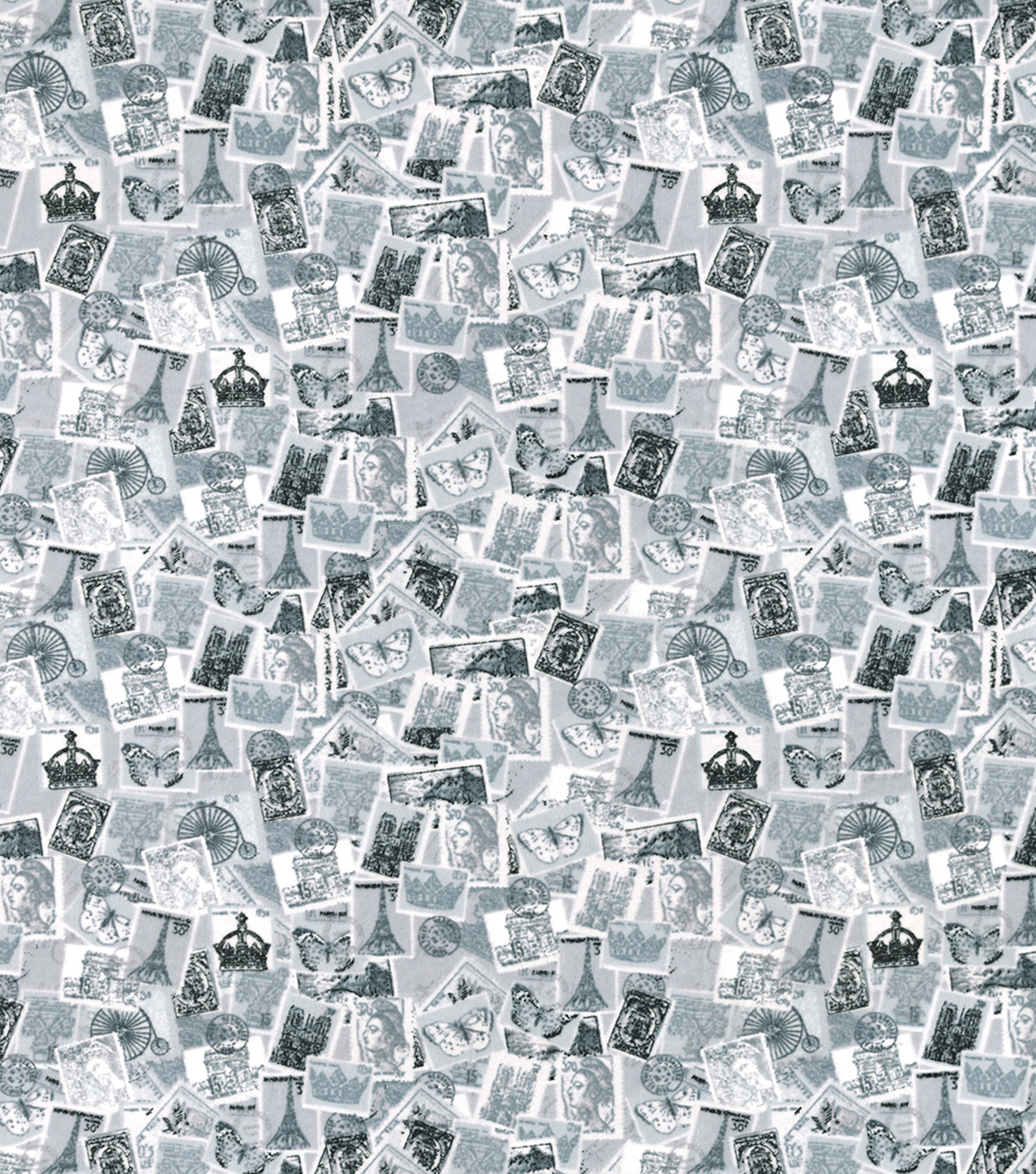 Snuggle Flannel Fabric-Assorted Postage