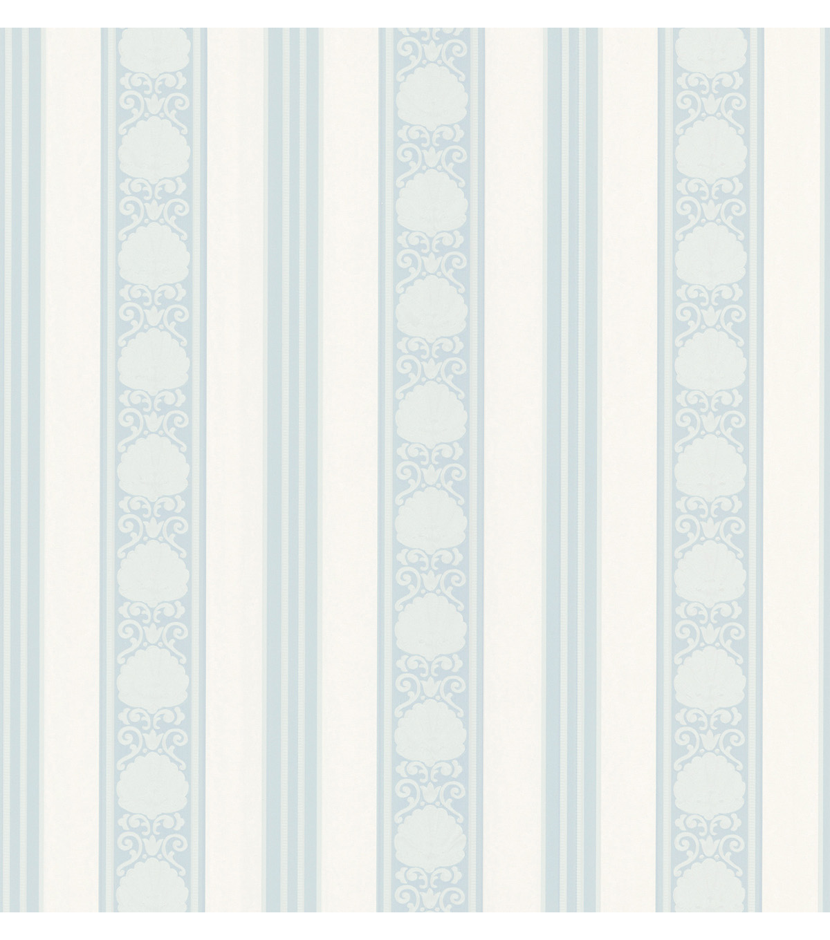 Delphine Light Blue Stripe Wallpaper