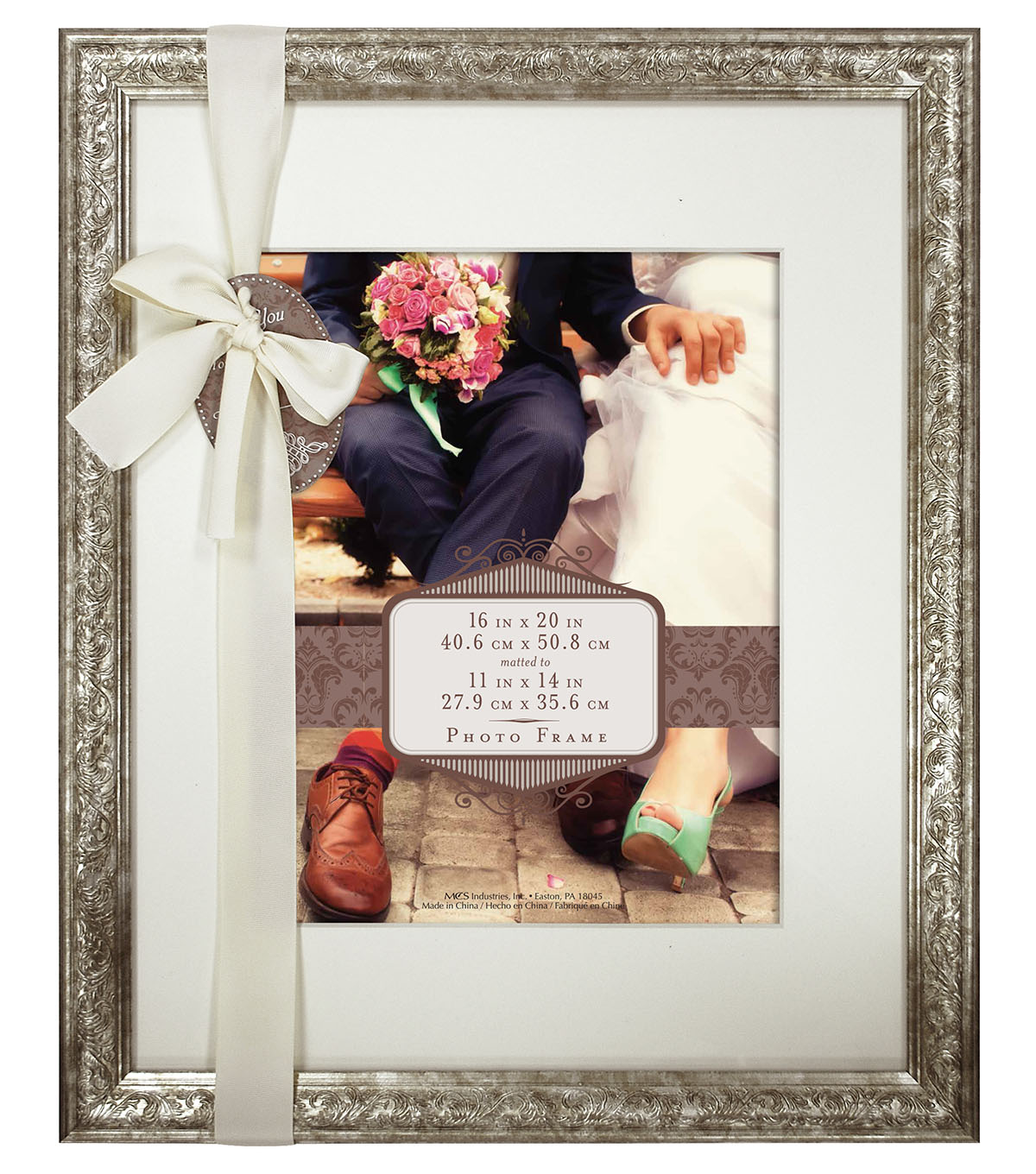 to matted pertaining for picture with wall pewter frame mat