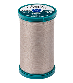 Coats & Clark Outdoor 200yd Thread, Coats Outdoor 200yd Tpe Clar