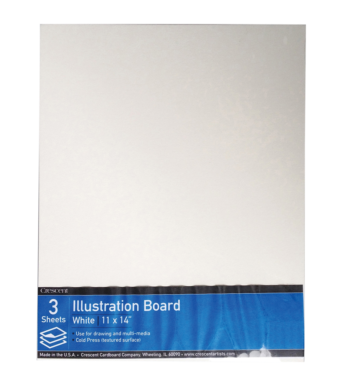 Crescent Illustration Board Value Pack 3/Pkg-11\u0022X14\u0022