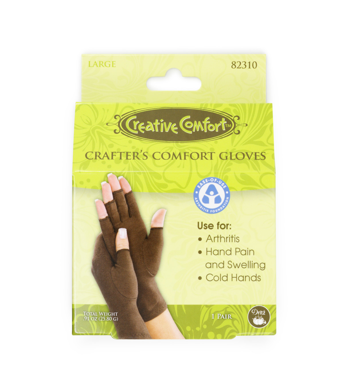 Creative Comfort Crafter\u0027s Comfort Glove-Large
