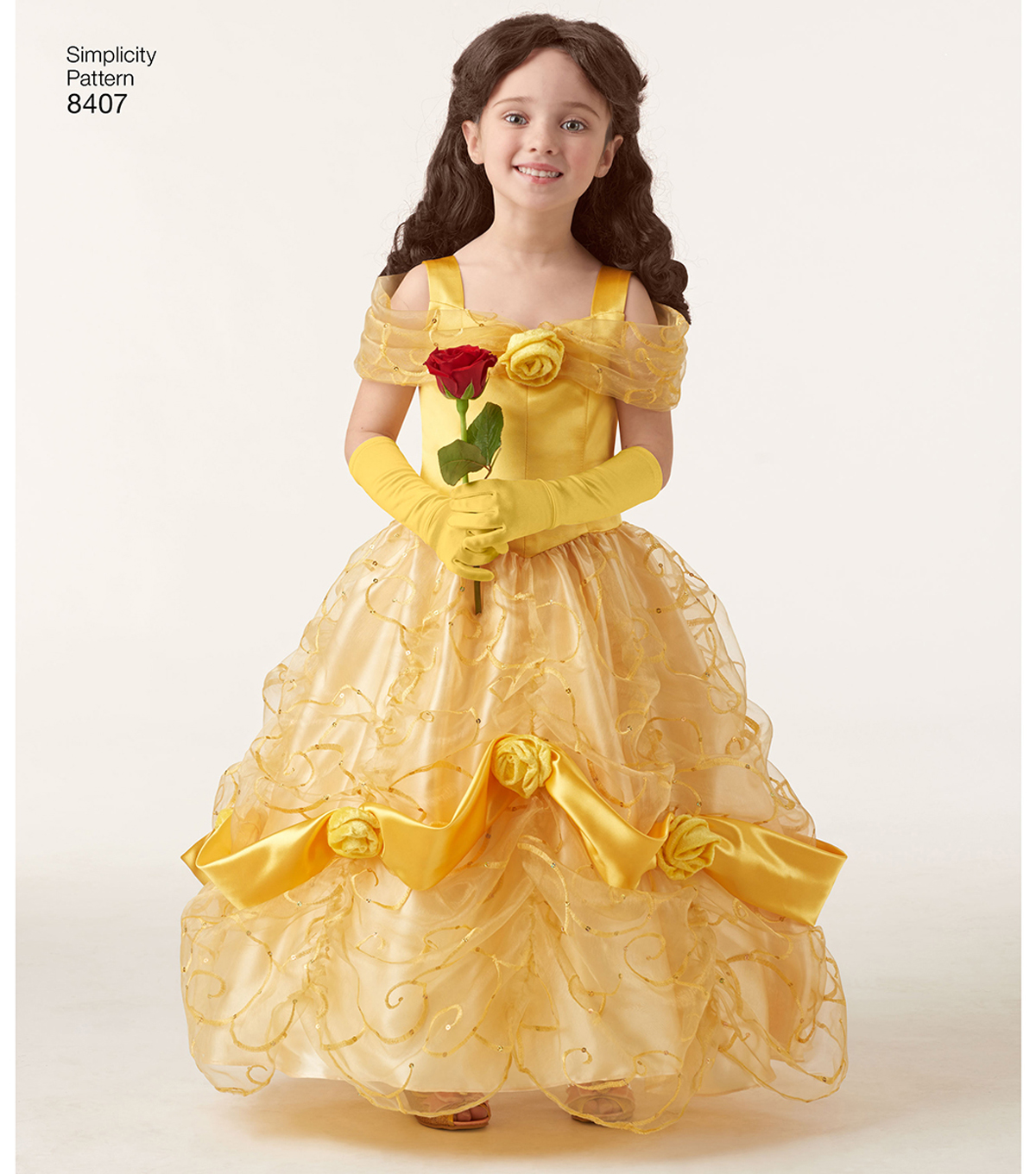 Simplicity Pattern 8407 Children\u0027s & 18\u0027\u0027 Doll Costume-Size A (3-8)
