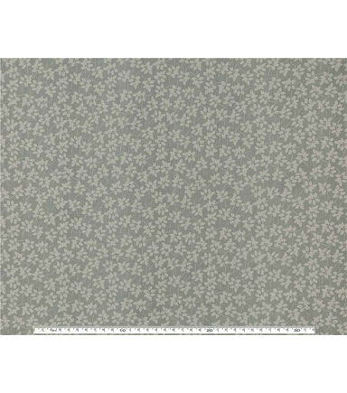 Wide Cotton Quilt Fabric 108\u0022-Vine Gray