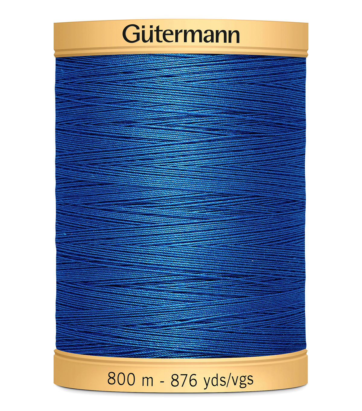 Gutermann Natural Cotton Thread Solids 876 yd, Royal Blue