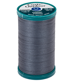 Coats & Clark Outdoor 200yd Thread, Coats Outdoor 200yd Navy