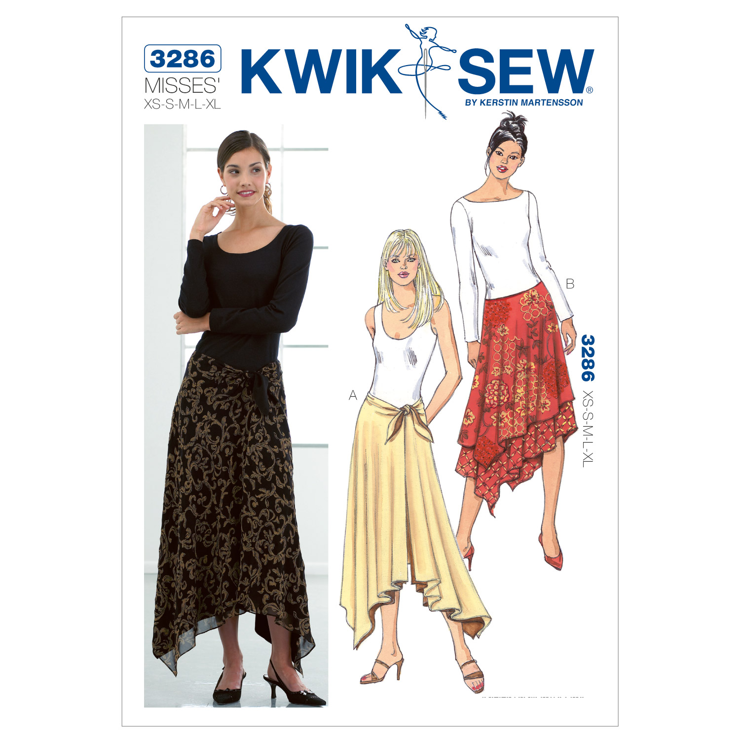 Kwik Sew Misses Skirt-K3286