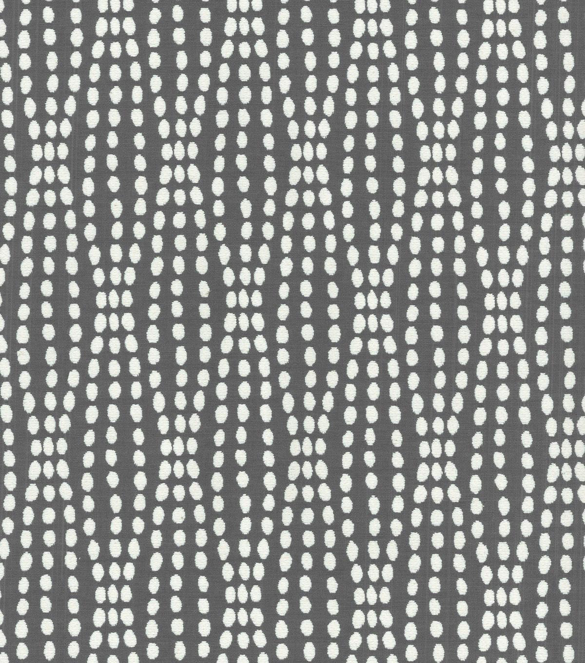 Waverly Upholstery Fabric 55\u0022-Strands Charcoal