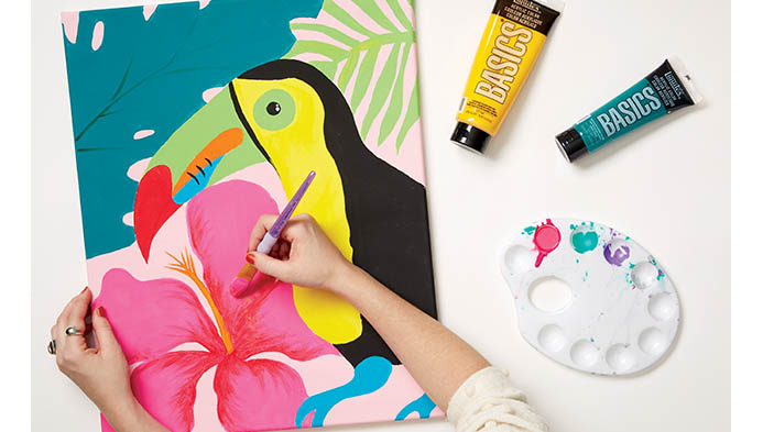 Learn To Paint With Acrylics