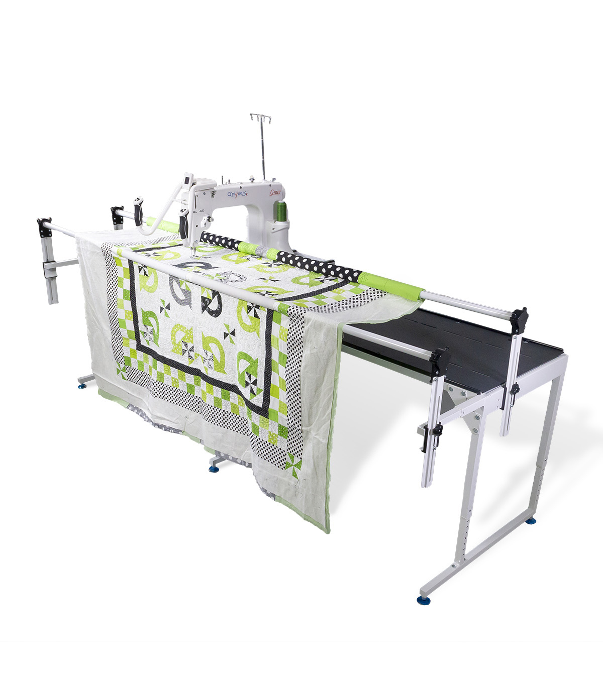 The Grace Company Q\u0027nique 15R Mid-arm Quilting Machine & Frame