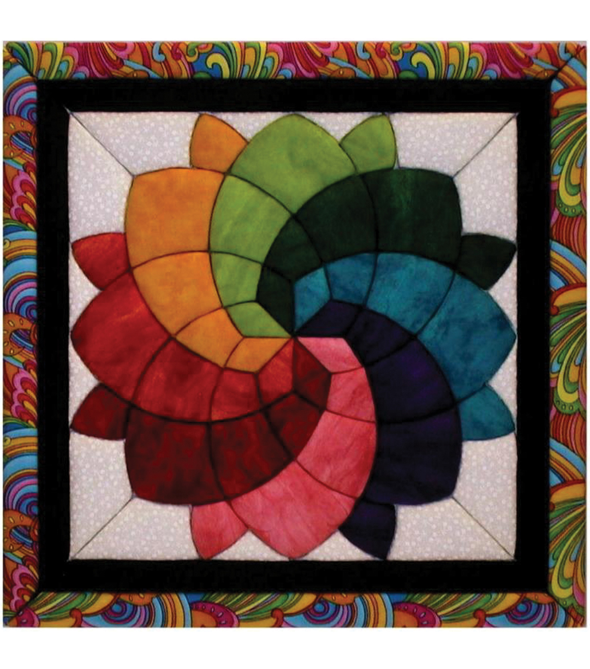 Quilt-Magic No Sew Wall Hanging Kit-Cross